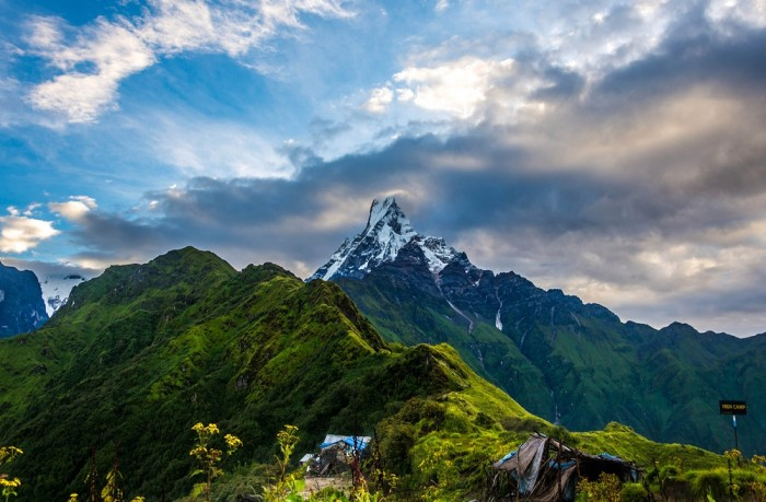Mardi Himal Trek and Natural Hot Spring
