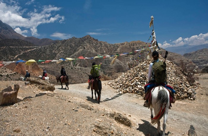 Upper Mustang Trek with Flights